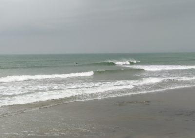 Surf et bodyboard plage de kervel - campingPredelamer